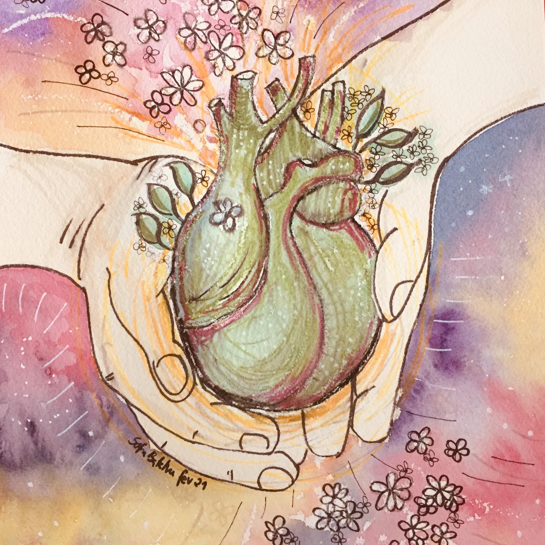 Viver com o coração nas mãos